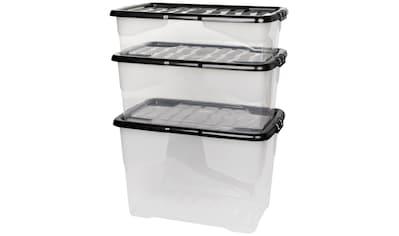 KREHER Aufbewahrungsbox »CURVE«, 3er Set kaufen