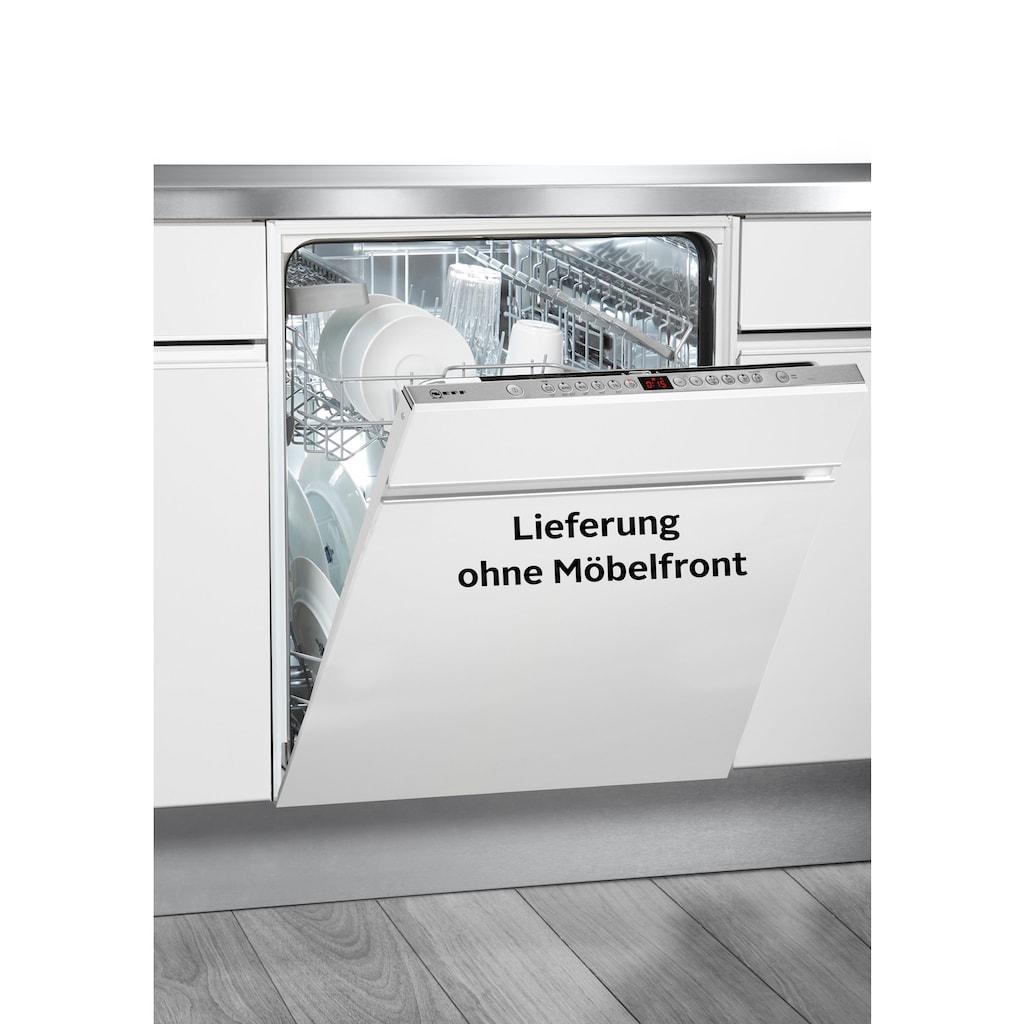 NEFF vollintegrierbarer Geschirrspüler »S513J60X3E«, N 50, S513J60X3E, 9,5 l, 13 Maßgedecke