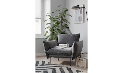 andas Sessel »Stine«, Besonderes Design durch Kissenoptik und Keder, Design by Morten... kaufen