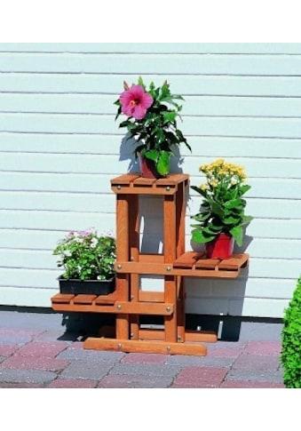 promadino Blumenständer »Blummentreppe«, BxTxH: 60x24x56 cm kaufen