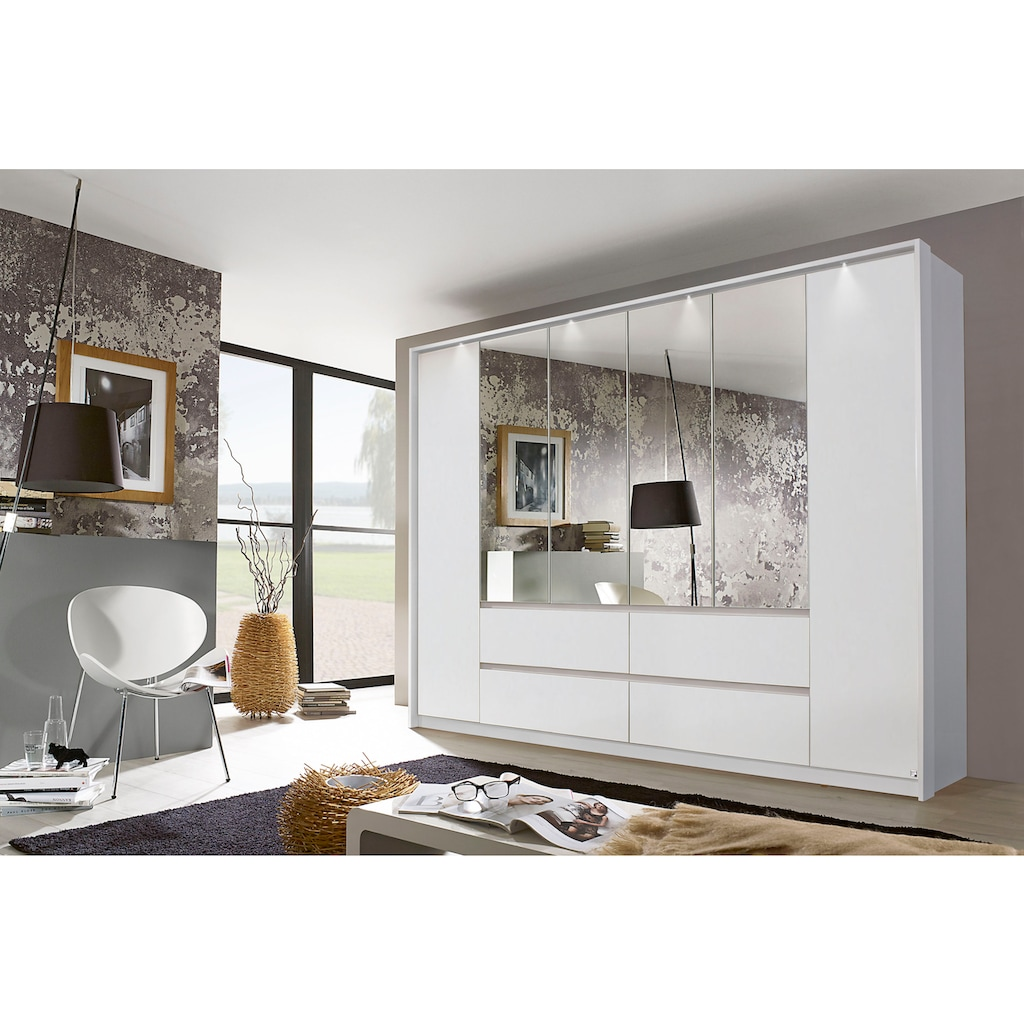 rauch ORANGE Drehtürenschrank »Mainz«, mit Spiegel inkl. Passepartout-Rahmen