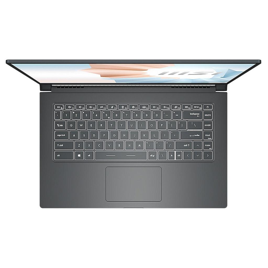 "MSI Notebook »Modern 15 A11SB-014«, (39,6 cm/15,6 "" Intel Core i7 GeForce MX450\r\n 512 GB SSD)"
