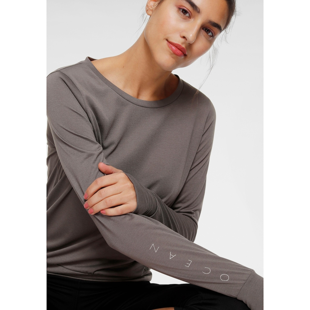 Ocean Sportswear Langarmshirt »Yoga LS Loose Fit«