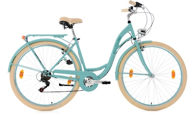 KS Cycling Cityrad »Balloon«, 6 Gang, Shimano, Tourney RD-TZ 50 Schaltwerk, Kettenschaltung kaufen