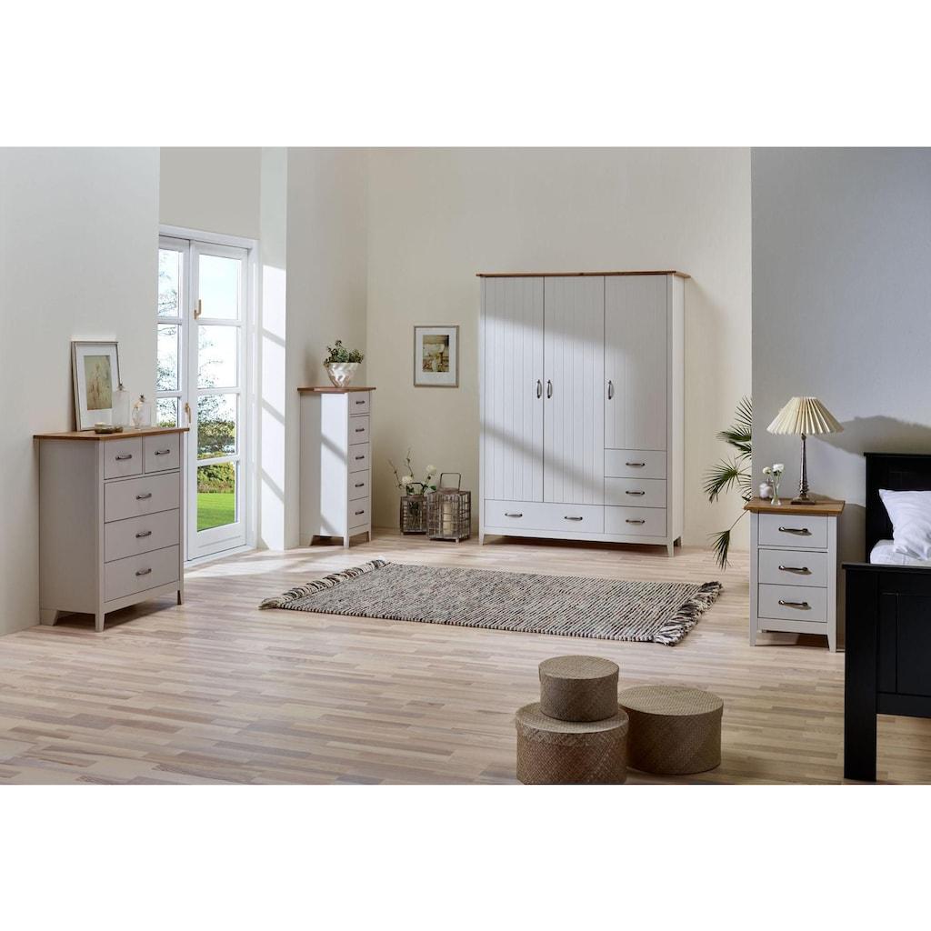Home affaire Kommode »Norfolk«, mit 5 Schubladen, Breite 77 cm