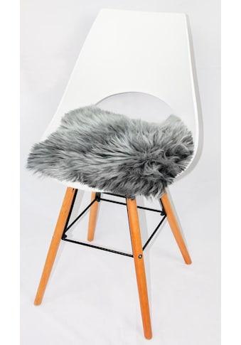 Heitmann Felle Stuhlkissen »Lamm, eckig«, Sitzauflage, Sitzfell, eckig, 44x44 cm,... kaufen