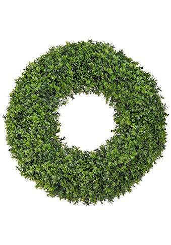 Creativ green Kunstpflanze »Buchsbaum Kranz« (1 Stück) kaufen