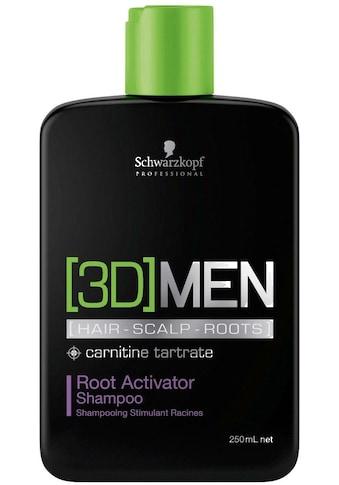 Schwarzkopf Professional Haarshampoo »3D Men Root Activator Shampoo«, (1 tlg.),... kaufen