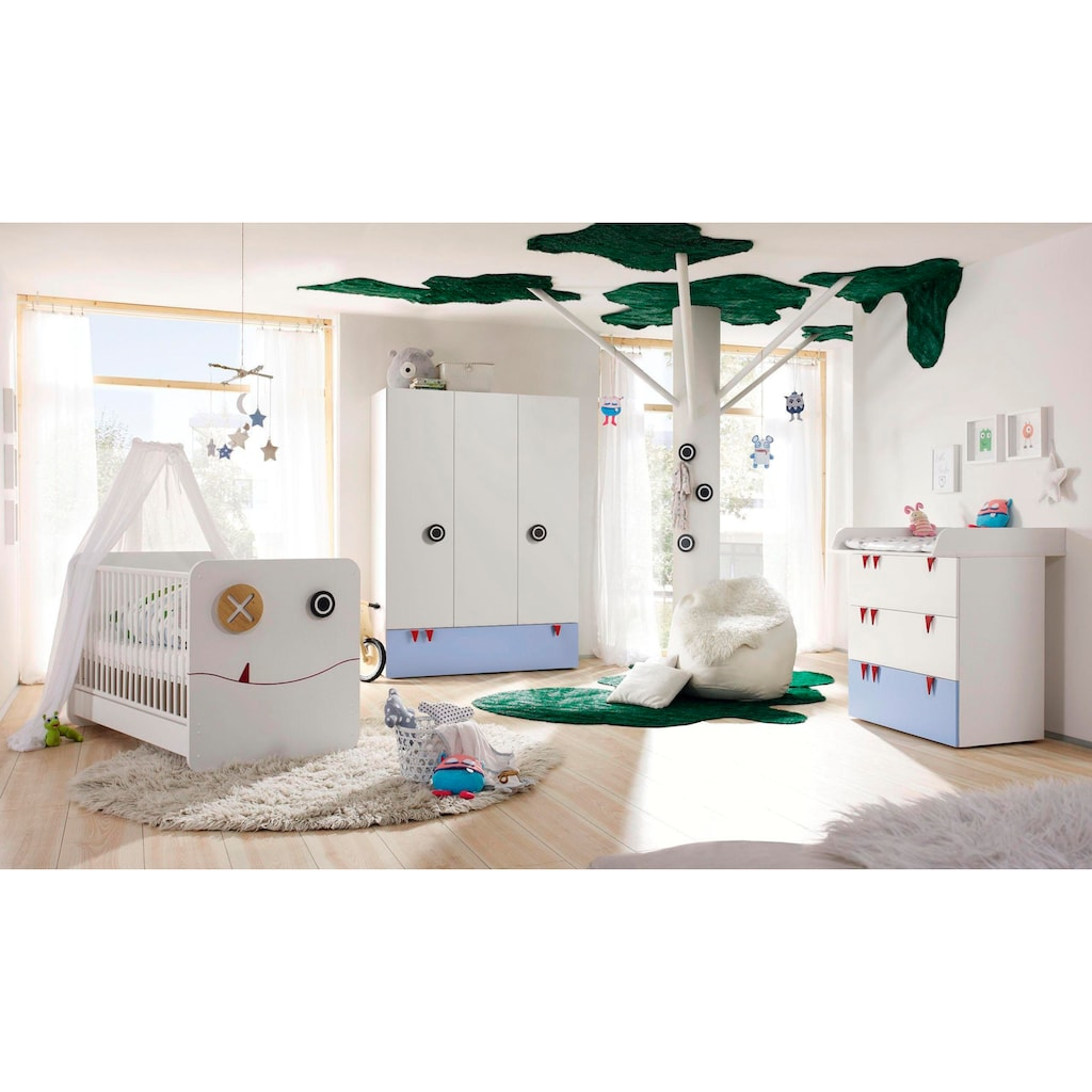 now! by hülsta Babyzimmer-Komplettset »now! minimo«, (Set, 5 tlg.)
