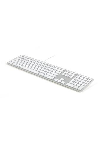 Matias US - Layout für Mac OS »Aluminum Erweiterte USB Tastatur « kaufen