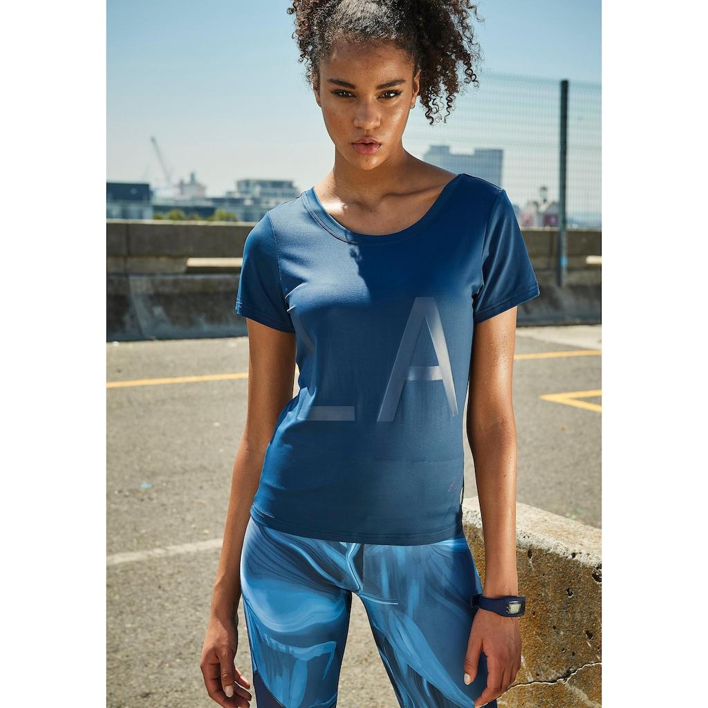 LASCANA Kurzarmshirt »Like a Feather«