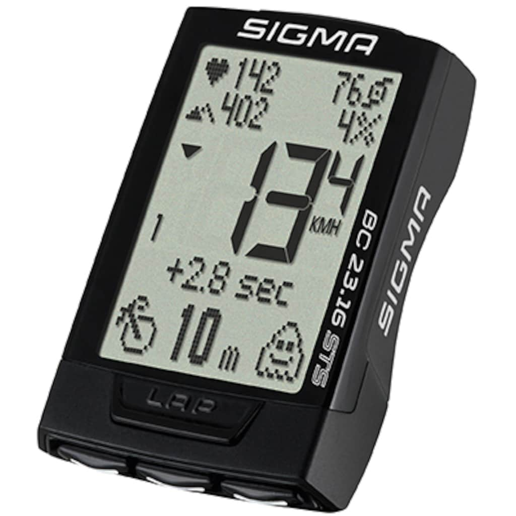 SIGMA SPORT Fahrradcomputer »BC 23.16 STS SET«