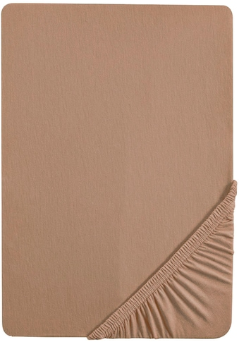 Biberna Spannbettlaken »Thea«, Jersey-Elasthan Qualität für Wasserbetten geeignet kaufen