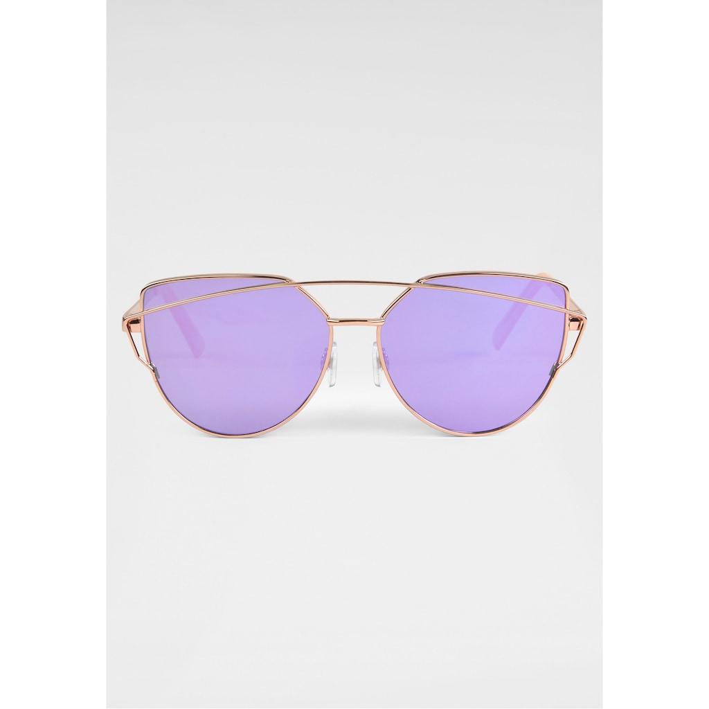 BASEFIELD Sonnenbrille, mit verspiegelten Gläsern