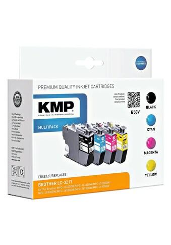 KMP Tintenpatronen - Set ersetzt Brother »LC - 3217VALDR« kaufen