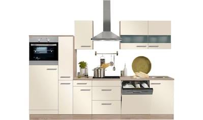 OPTIFIT Küchenzeile »Kalmar«, ohne E-Geräte, Breite 300 cm kaufen