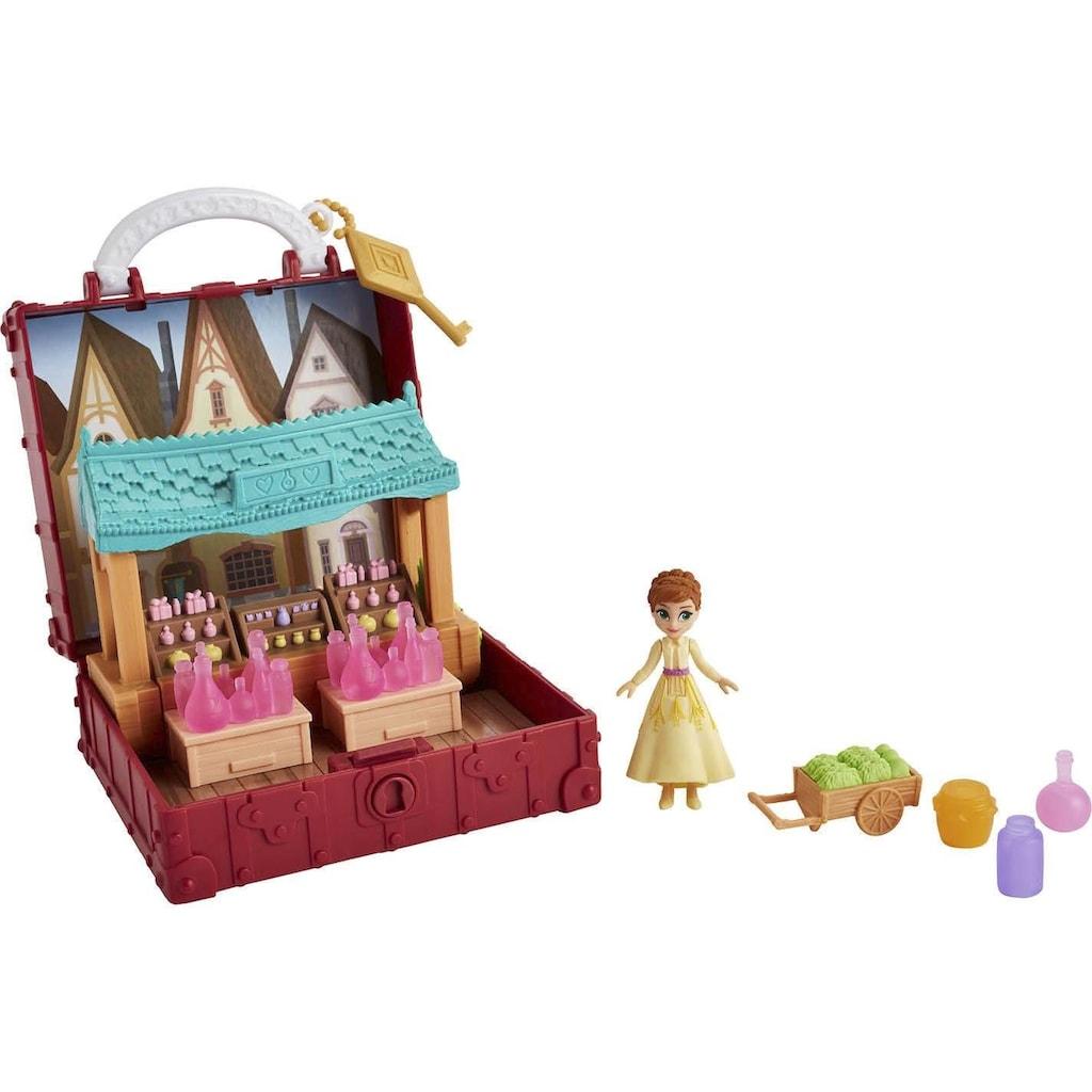 Hasbro Puppenhaus »Die Eiskönigin II, Pop-Up Abenteuer Dorfset Spielset«, mit Griff, inklusive Anna Puppe