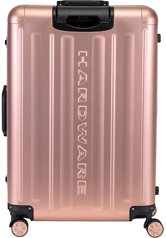 Hardware Hartschalen-Trolley »PROFILE PLUS ALU L, rosegold«, 4 Rollen kaufen