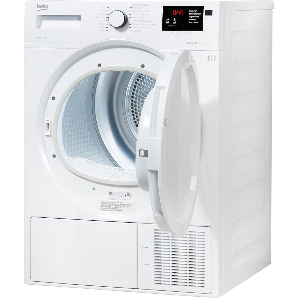 BEKO Wärmepumpentrockner »DE 8433 PA0«, 8 kg