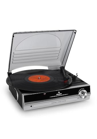 Auna Plattenspieler HiFi Riemenantrieb Nadel integrierte Lautsprecher kaufen