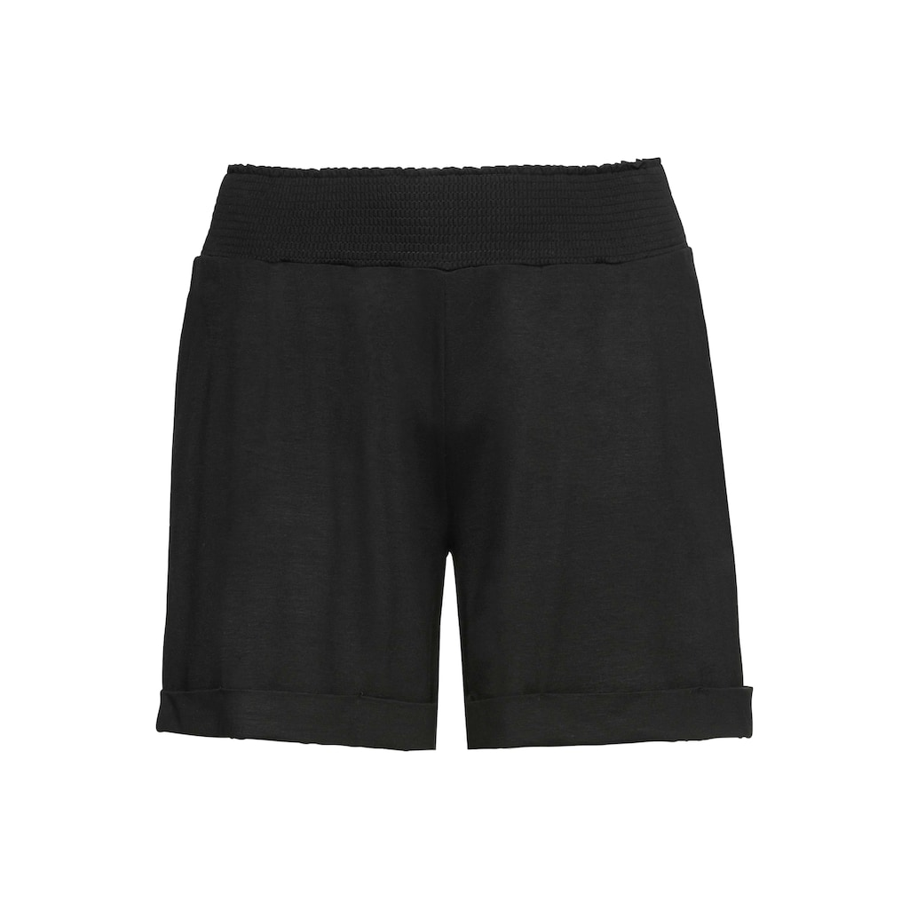 Sheego Shorts, mit breitem Smokbund