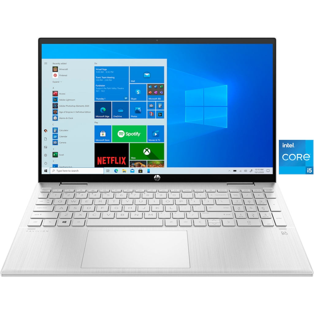 HP Convertible Notebook »Pavilion x360 Convertible 15-er0200ng«, ( 512 GB SSD)