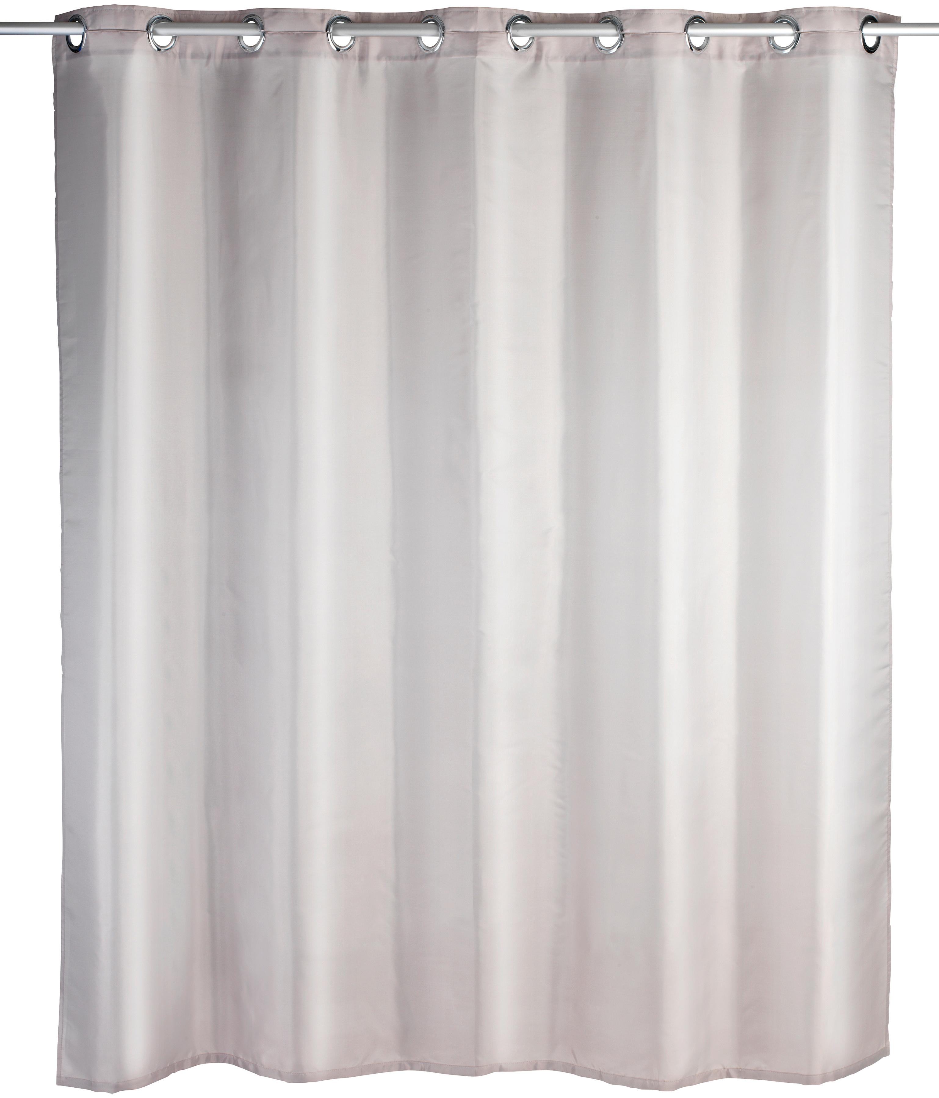 WENKO Duschvorhang »Comfort Flex« | Bad > Duschen > Duschvorhänge | Grau | Polyester | Wenko