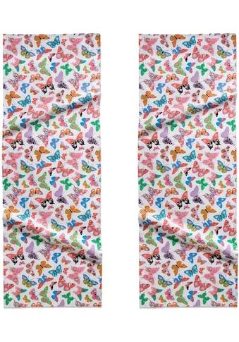 DDDDD Tischläufer »Butterfly«, (Set, 2 St.), 50x150 cm kaufen