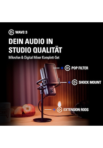 Elgato Mikrofon »Softbundle Wave:3« kaufen