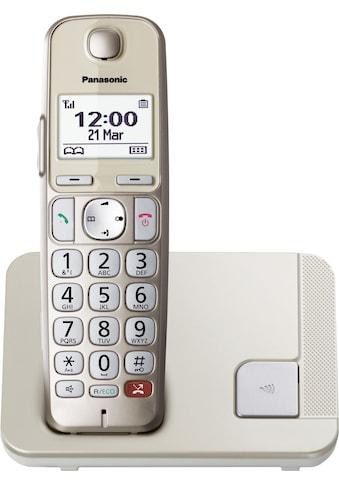 Panasonic Schnurloses DECT-Telefon »KX-TGE250GN«, (Mobilteile: 1) kaufen