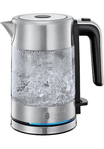 RUSSELL HOBBS Wasserkocher »Compact Home Mini 24191-70«, 0,8 l, 2200 W, energiesparend kaufen