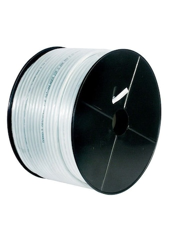 Goobay 80 dB Koax - Antennenkabel »2x geschirmt, CU« kaufen