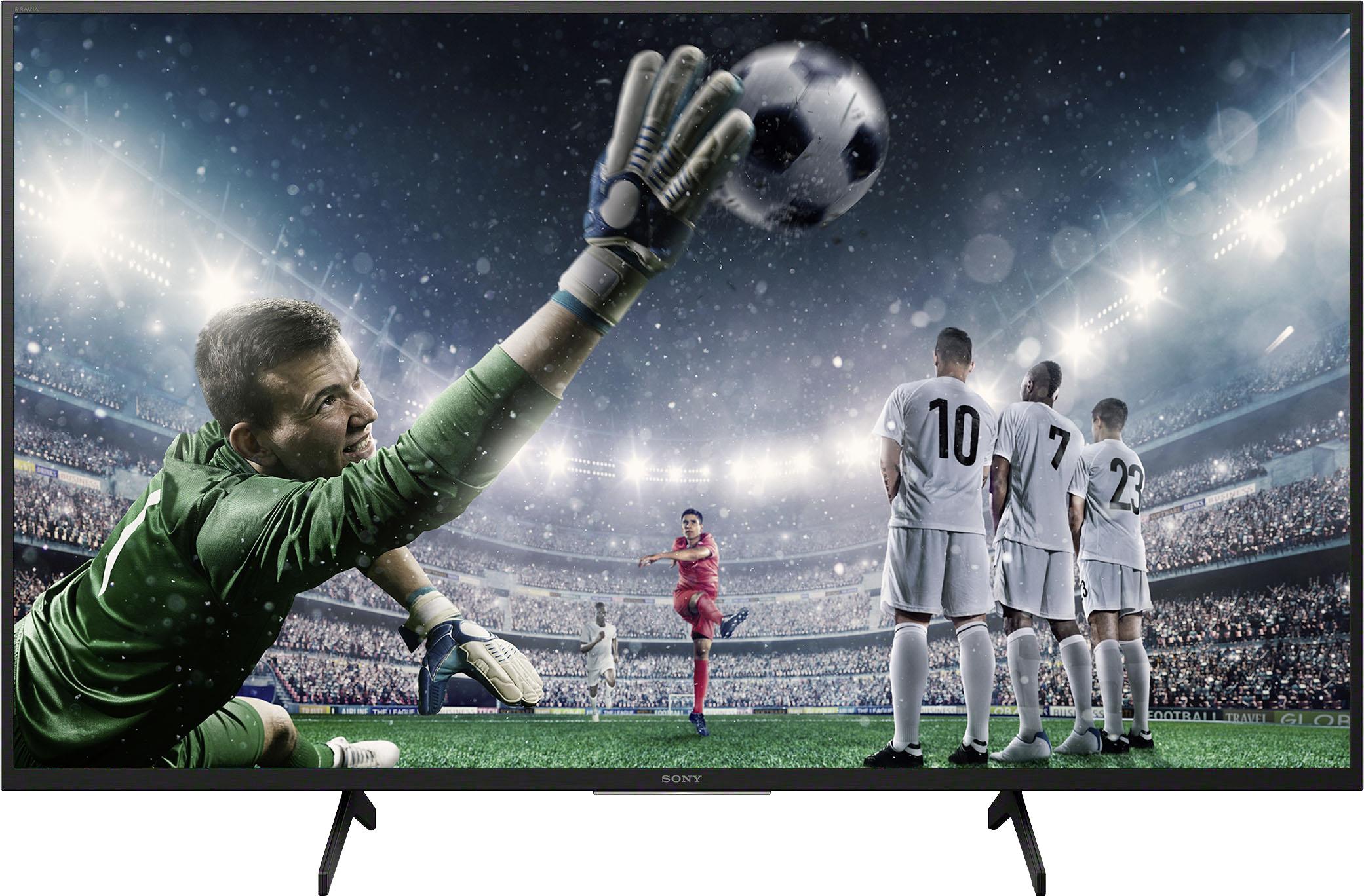 Sony LED-Fernseher KD-49XH8096 Bravia , 123 cm 49 , 4K Ultra HD, Android TV-Smart-TV