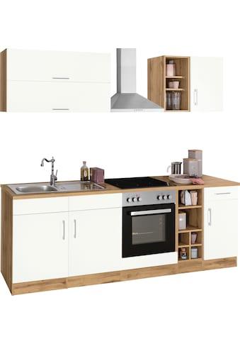 HELD MÖBEL Küchenzeile »Colmar«, ohne E-Geräte, Breite 240 cm kaufen