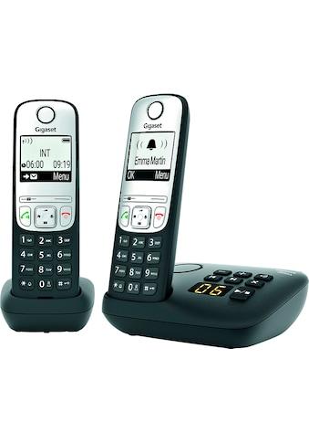 Gigaset Schnurloses DECT-Telefon »A690A Duo«, (Mobilteile: 2) kaufen
