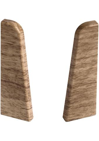 EGGER Endstücke »Eiche beige«, für 6 cm Sockelleiste kaufen
