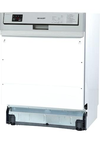 Sharp teilintegrierbarer Geschirrspüler, QW-NA24S42DI-DE, 15 Maßgedecke kaufen