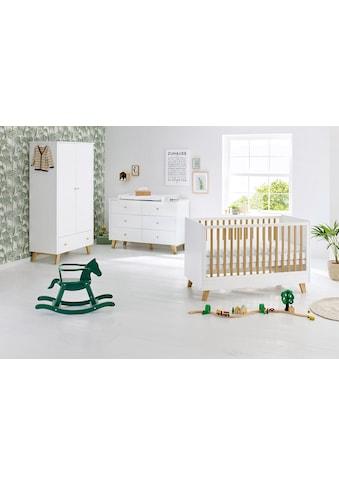Pinolino® Babyzimmer-Komplettset »Pan«, (Set, 3 St.), extrabreit; mit Kinderbett,... kaufen