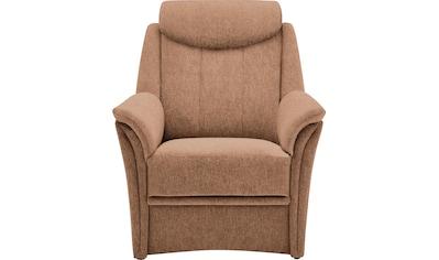 VILLA BECK Sessel »Lugano«, inklusive Kopfteilverstellung, in Sitzhöhe 49 cm kaufen