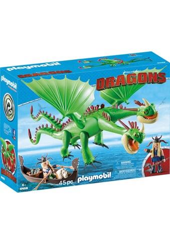 "Playmobil® Konstruktions - Spielset ""Raffnuss und Taffnuss mit Kotz und Würg (9458), Dragons"", Kunststoff kaufen"