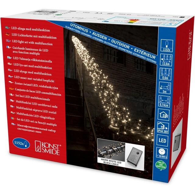 KONSTSMIDE LED-Lichterkette »Büschellichterkette Cluster«