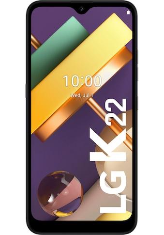 LG K22 Smartphone (15,74 cm / 6,2 Zoll, 32 GB, 13 MP Kamera) kaufen