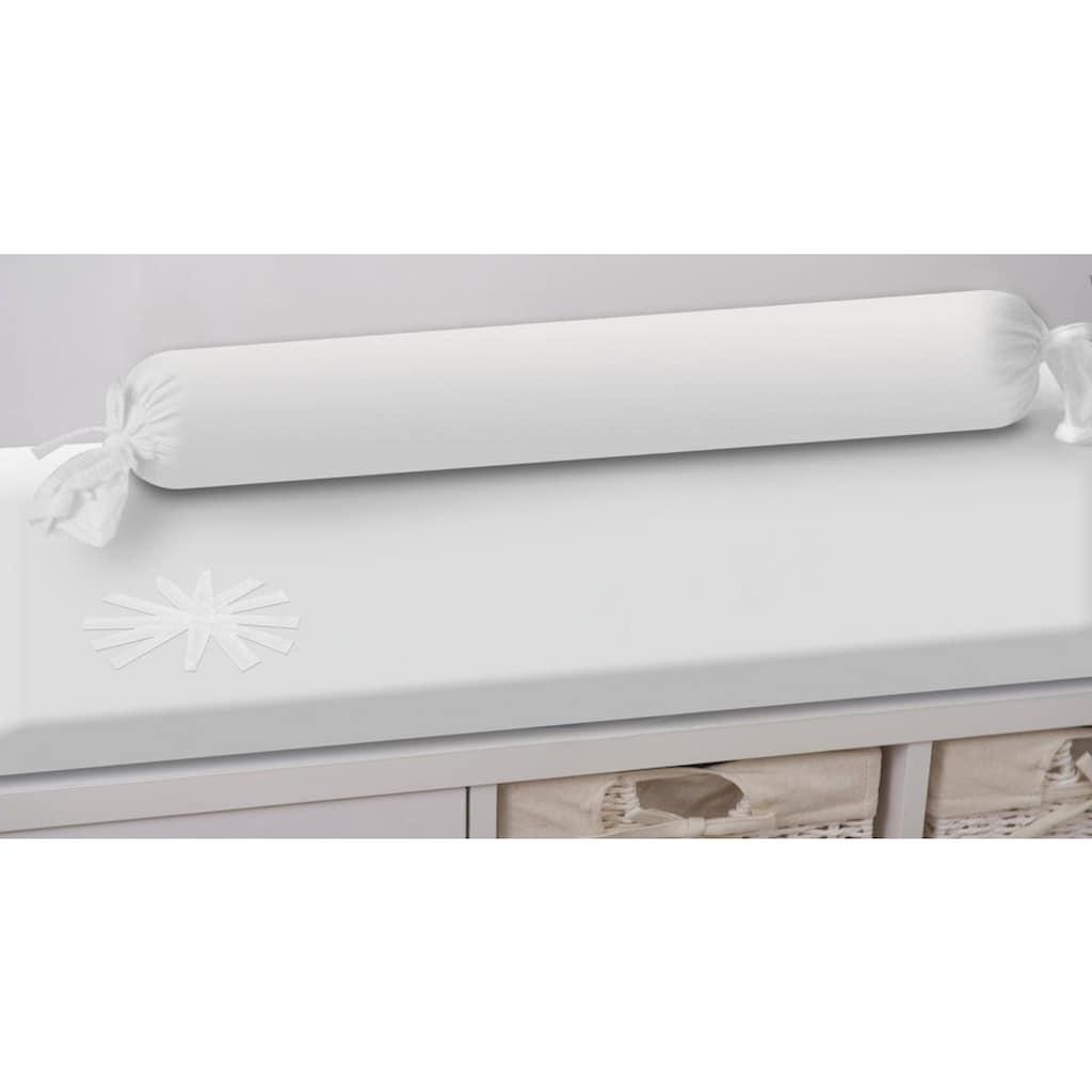 smarTrike® Wickelauflage »toTs Wickelmatte Pure White weiss«, mit Rolle