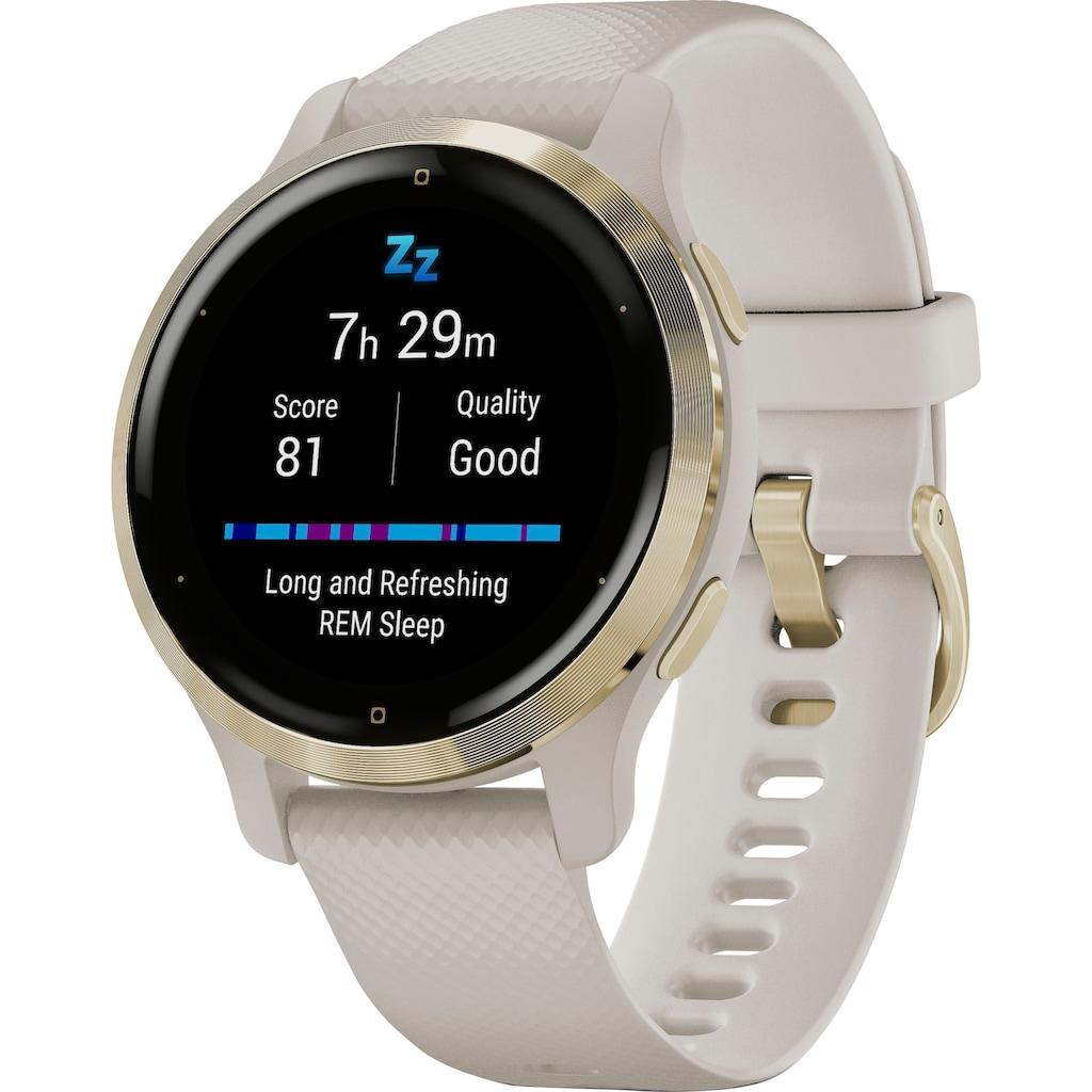 Garmin Smartwatch »Venu 2S«, (25 vorinstallierten Sport-Apps)