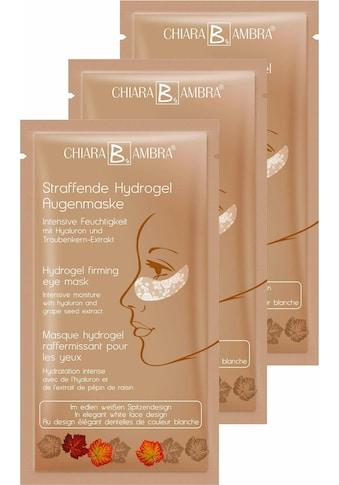 """CHIARA AMBRA Augenmaske """"Straffende Hydrogel Augenmaske"""", 3 - tlg. kaufen"""