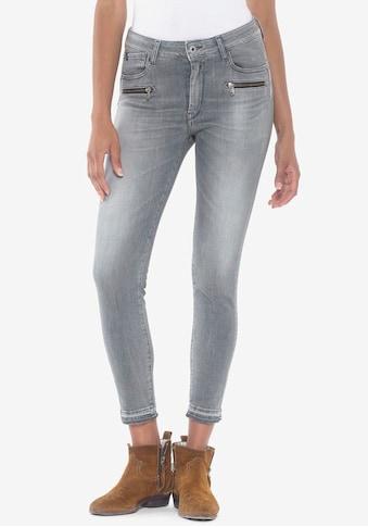 Le Temps Des Cerises Ankle-Jeans »PULPHIC DADO«, mit Reißverschlusstaschen vorne kaufen
