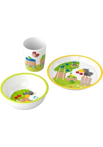 Haba Kindergeschirr-Set »Obstgarten«, (Set, 3 tlg.) kaufen