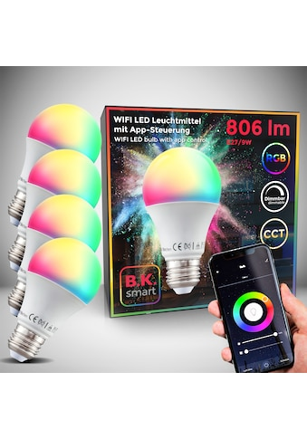 B.K.Licht LED - Leuchtmittel, E27, Farbwechsler kaufen