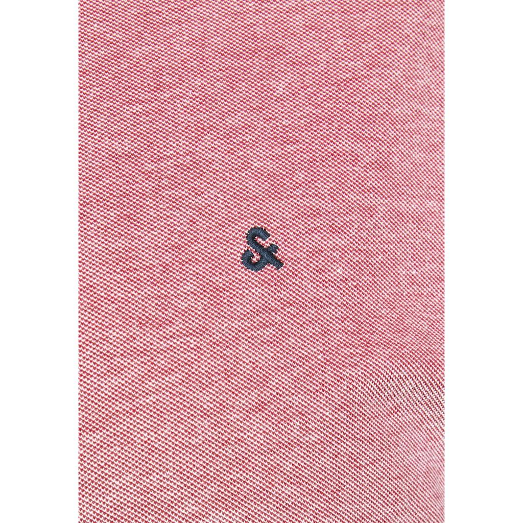 Jack & Jones Poloshirt »Paulus Polo«, bis Größe 6XL
