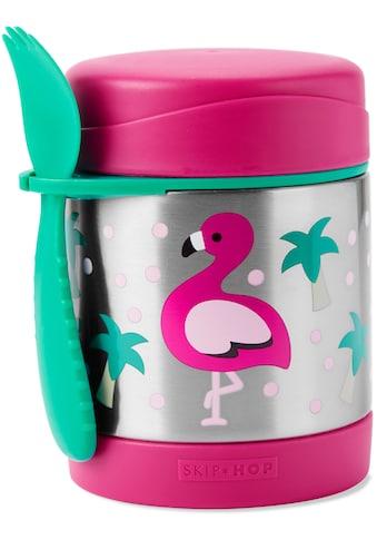 Skip Hop Thermobehälter »Zoo Edelstahl Warmhaltebehälter Flamingo«, (2 tlg.), mit... kaufen